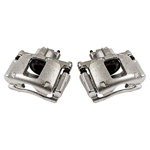 CCK01523 [ 2 ] FRONT Premium Grade OE Semi-Loaded Caliper Assembly Pair ()