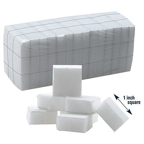 Star Nail 126 Count Super Mini White Nail Block