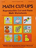 Math Cut-Ups, Ginger Wentrcek, 0822444224