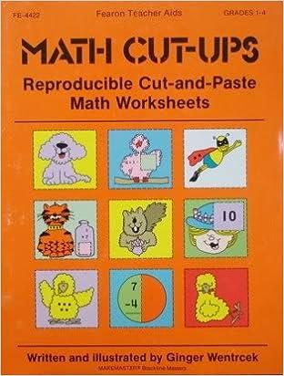 Amazon.com: Math Cut-Ups (9780822444220): Ginger Wentrcek: Books