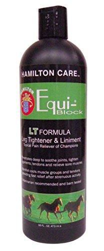 - Hamilton Care Equi-Block Horse Leg Tightener & Liniment Light Formula, 16-Ounce by MiracleCorp
