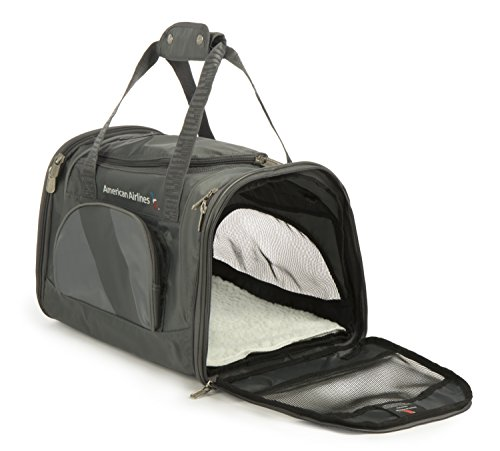 Sherpa American Airlines Duffle Pet Carrier, Medium, Charcoal by Sherpa (Image #2)