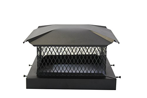 Premium Black Chimney Cap - 9