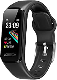 AITES Fitness Trackers, Smart Watch with Heart Rate Sleep & Blood Pressure & Temperature Monitor for M
