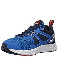 Reebok Kids Zone Cushrun 2.0 Running Shoes, Blue Sport/Collegiate Navy/Atomic Red/White, 1.5