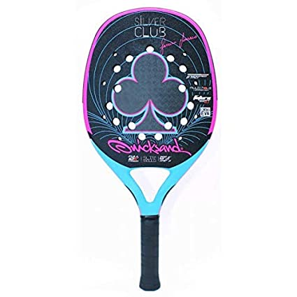 Raqueta Tenis Playa Racket Quicksand Silver Club 2019