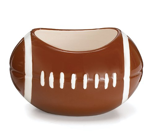 Football Planter/Candy Dish Great for Football Party or Sports Themed Events