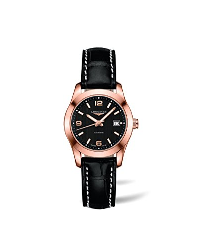 Longines-Conquest-Classic-Automatic-Ladies-Leather-Watch-L22858563