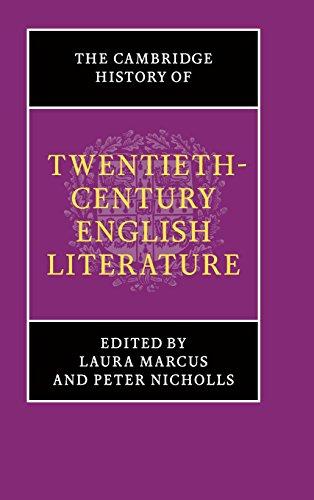 The Cambridge History of Twentieth-Century English Literature (The New Cambridge History of English Literature)
