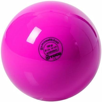 TOGU Gymnastic Unlacquered - Balón de Ejercicio, Color Rosa ...