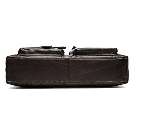 uomo tracolla SHOUTIBAO tracolla uomo da d'affari valigetta Borsa da da in 4 borsa 2 pelle uomo borsa casual a AwCaxw01q