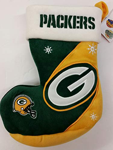 Team Beans NFL Green Bay Packers Christmas Stocking, New