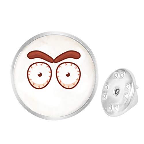 Custom Lapel Pin Brooches Burst Tendons Eyes Banquet Badge Pins Trendy Accessory Jacket T-Shirt Bag Hat Shoe