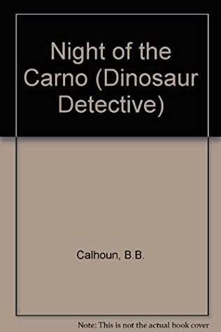 book cover of Night of the Carnotaurus
