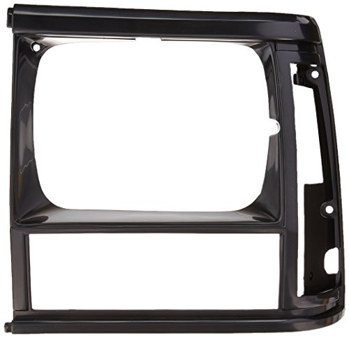OE Replacement Jeep Cherokee/Wagoneer Driver Side Headlight Door (Partslink Number CH2512124) - Bezel Headlight Assembly