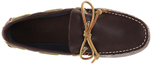 Sperry Top-sider Heren Hamilton Driver 1 Eye Boat Shoe Classic Brown