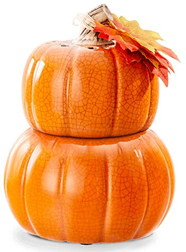 SCENTSY WARMER HOLIDAY HARVEST COLLECTION PICK OF THE PATCH PUMPKIN FULL SIZE CERAMIC WAX WARMER WITH LIGHT - NEW OUT 2018