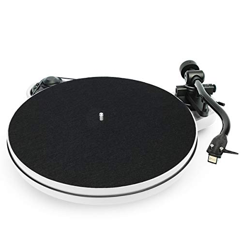 (Pro-Ject RPM 1 Carbon Manual Turntable with Sumiko Pearl Cartridge (White))