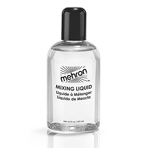 Mehron Makeup Mixing Liquid 4.5 (50s Costumes Images)