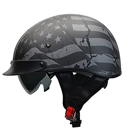 Vega Helmets Unisex-Adult 7817-054 Warrior Motorcycle...