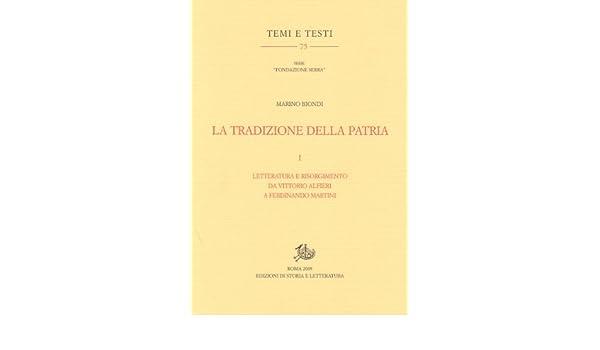 La tradizione della patria (Italian Edition) eBook: Marino Biondi ...