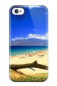 Ideal ZippyDoritEduard Case Cover For Iphone 4/4s(kihei Beach Maui Hawaii People Nature Summer), Protective Stylish Case
