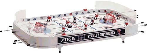 NHL Stanley Cup Hockey Table Game (Detroit Red Wings / Toronto Maple Leafs) Red Hockey Game Table