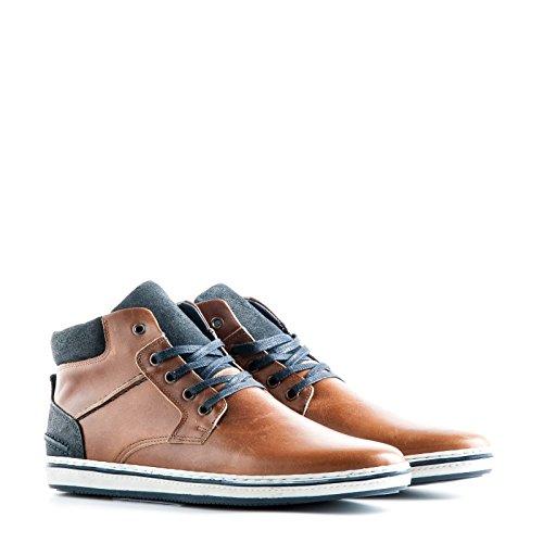 TravelinNewbury - Pantofole a Stivaletto uomo Marrone (Cognac)