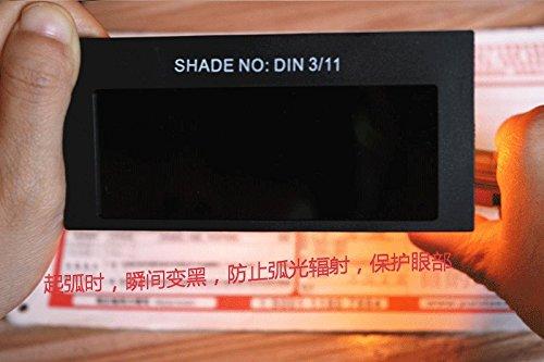 Yosoo® Pro Auto Solar Oscurecimiento de Soldadura Casco Máscara Ojos Goggle Soldador Gafas Arco DIN3/11: Amazon.es: Bricolaje y herramientas