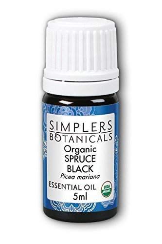 (Living Flower Essences Simplers Botanicals Spruce Black Organic, 0.16 Fluid Ounce)