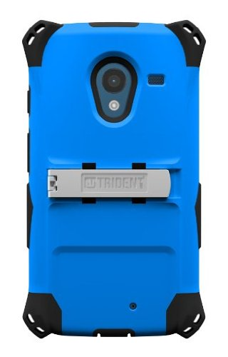 Trident Case Kraken AMS Series for Motorola X - Retail Packaging - Blue