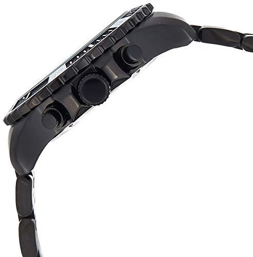 Invicta Men's Pro Diver Quartz Watch with Stainless-Steel Strap, Black, 22 (Model: 22417)