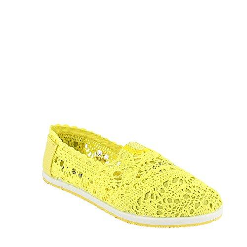 Ideal Shoes en Ballerines Minea Dentelle S4qaSA