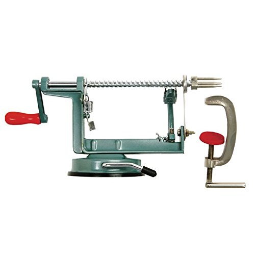Apple Peeling Machine - Norpro 865 Apple Master-Apple, Potato, Parer, Slicer & Corer with Vacuum Base & Clamp