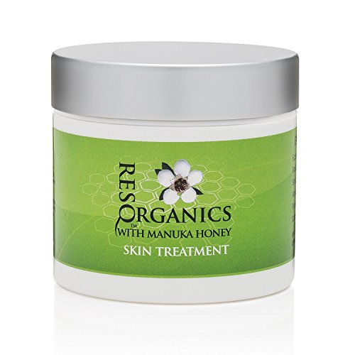 (All in One Intense Anti-Aging Face and Body Moisturizer 2oz - Nourish and Repair - with Organic Aloe Vera, Manuka Honey, Hemp Oil- For Eczema, Psoriasis, Shingles, Rosacea, and Damaged Skin)