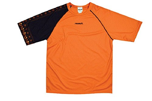 Reusch Soccer Youth Aztec Short Sleeve Goalkeeper Jersey, Orange/Black, Large ()
