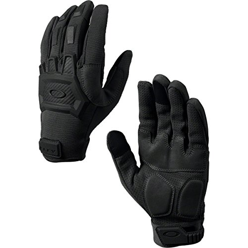 Oakley Flexion Mens Snow Snowmobile Gloves - Black/X-Large