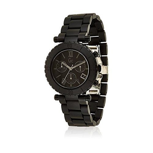 Guess Collection X43002M2S 38 Stainless Steel Case Black Ceramic Anti-Reflective Sapphire Women's Quartz Watch