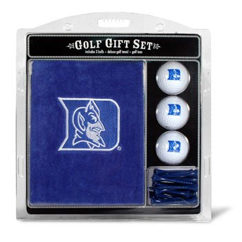 2.75' Golf Balls Tees - NCAA Embroidered Towel Gift Set NCAA Team: Duke