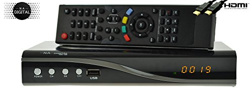 NA-Digital 1001 HD HDTV digitaler Satelliten-Receiver (HDTV, DVB-S2, HDMI, SCART, USB 2.0, Full HD 1080p) [vorprogrammiert] - schwarz