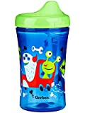 Gerber Graduates Advance Developmental Hard Spout Sippy Cup in Boy Colors, 10-Ounce ( Pack of 4 )