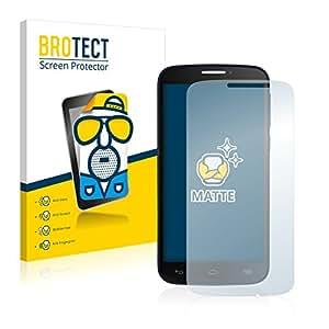 2x BROTECT Protector Pantalla para Alcatel One Touch Pop C7 7041X - Mate, Película Antireflejos