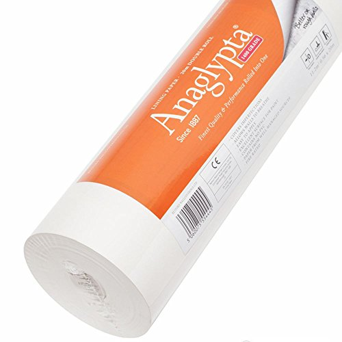 Lining Paper 1400 Grade Single Roll by Anaglypta