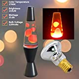 4 Pack Replacement Bulbs for Lava Lamps,Glitter