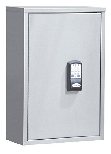 Single Door Deluxe Audit Narcotic Cabinet with Keypad Lock & HID Proximity Reader (24