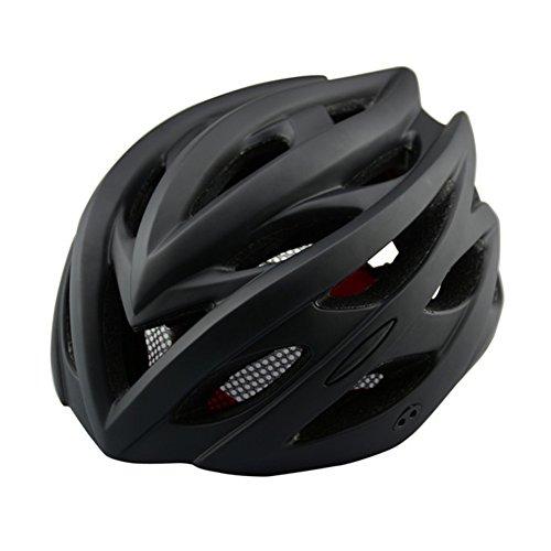 Yvonne - Casco de bicicleta especializado con luz de seguridad para bicicleta de montaña, ciclismo, ciclismo, adulto, con...