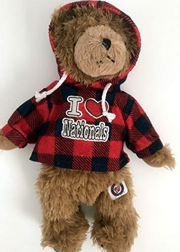 The Good Stuff Washington Nationals Plush Bear with Hoodie - 13