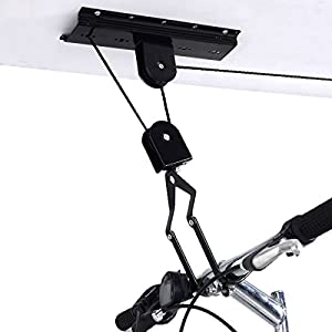 Storage Hanger Bicycle Bike Rack Wall Garage Mount Hook Holder Stand Ceiling