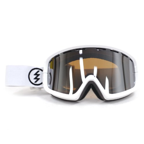 Electric Visual EGB2 Gloss White/Bronze Silver Chrome Snow - Lens Electric Egb2