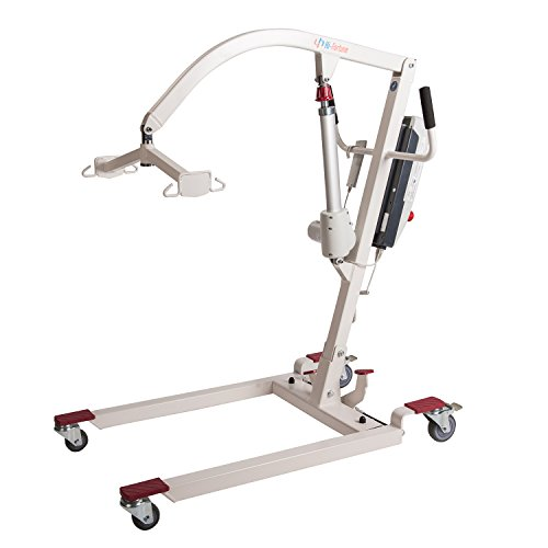 Hi-Fortune Electric Patient Lift Hydraulic Portable Lift with Full Mes